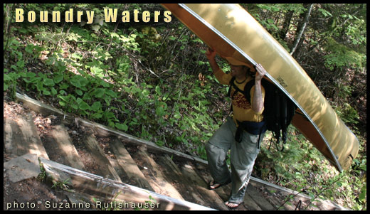Boundry waters canoe